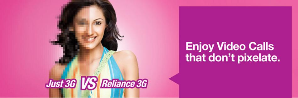 3G Internet Connection Reliance Banner