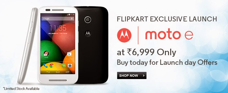moto e flipkart available