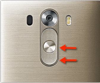 LG G3 Mobile Phone Power button & Volume Button