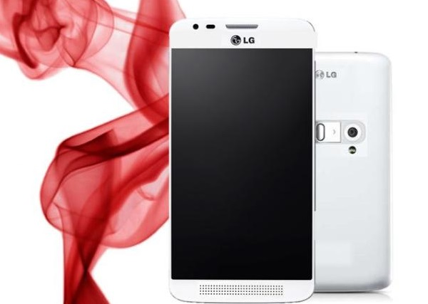 LG G3 Mobile Phone white