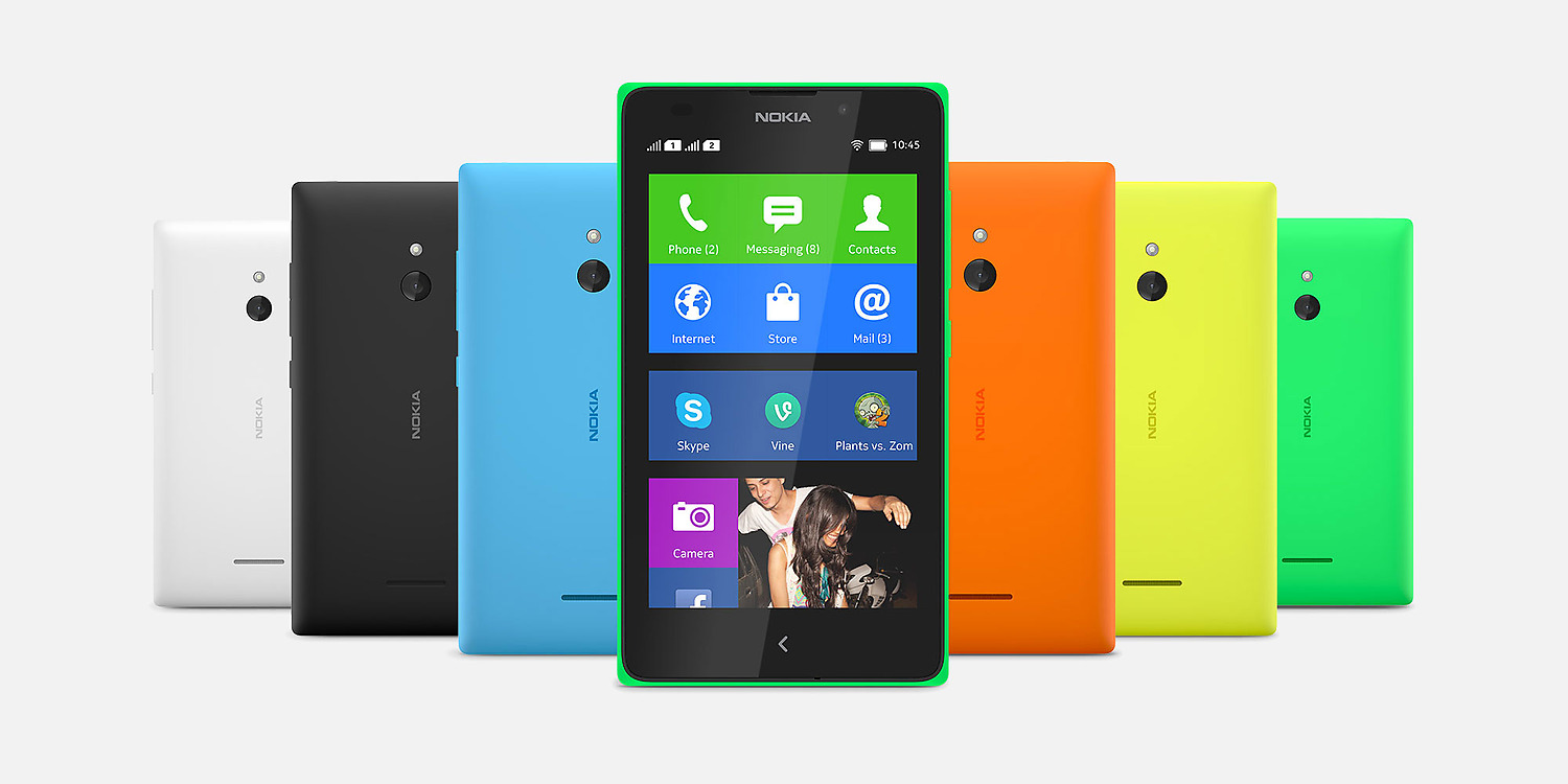 Nokia XL Dual SIM Android Mobile Phone