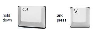 Windows Control Keyboard Button Clipart